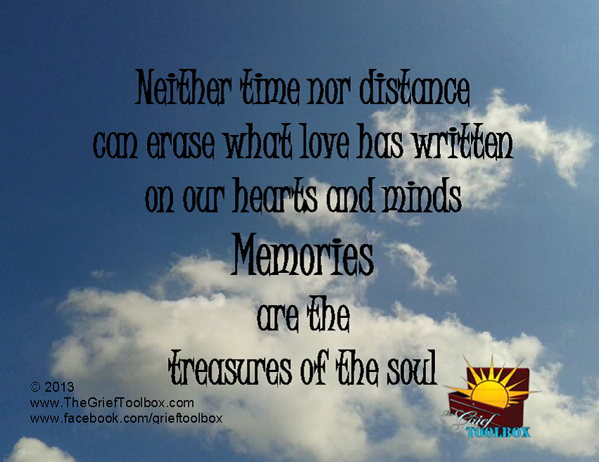 Memories are Treasures of the heart - A Poem   The Grief ...