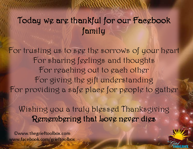 Thanksgiving | The Grief Toolbox