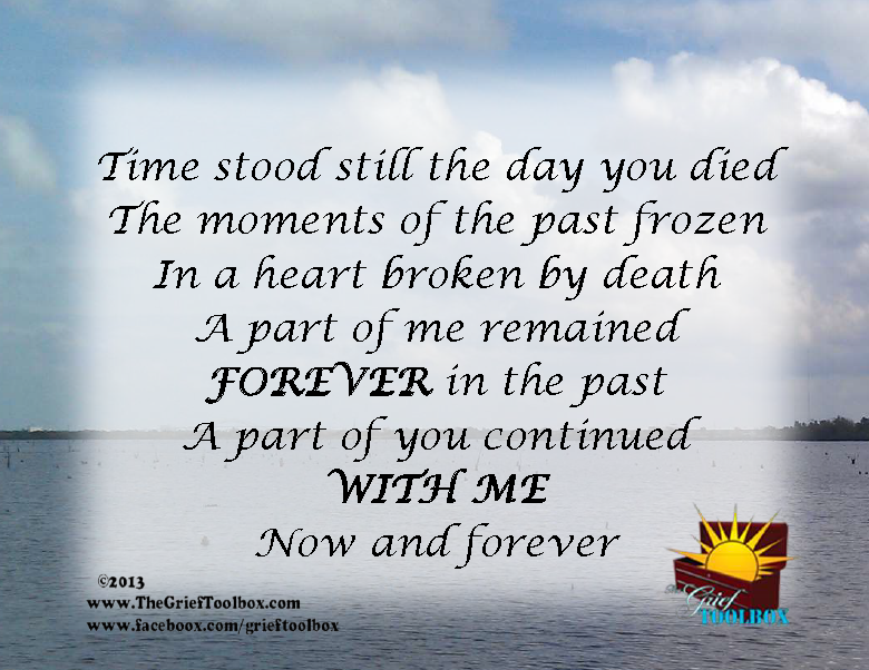 Time Stood Still A Poem The Grief Toolbox