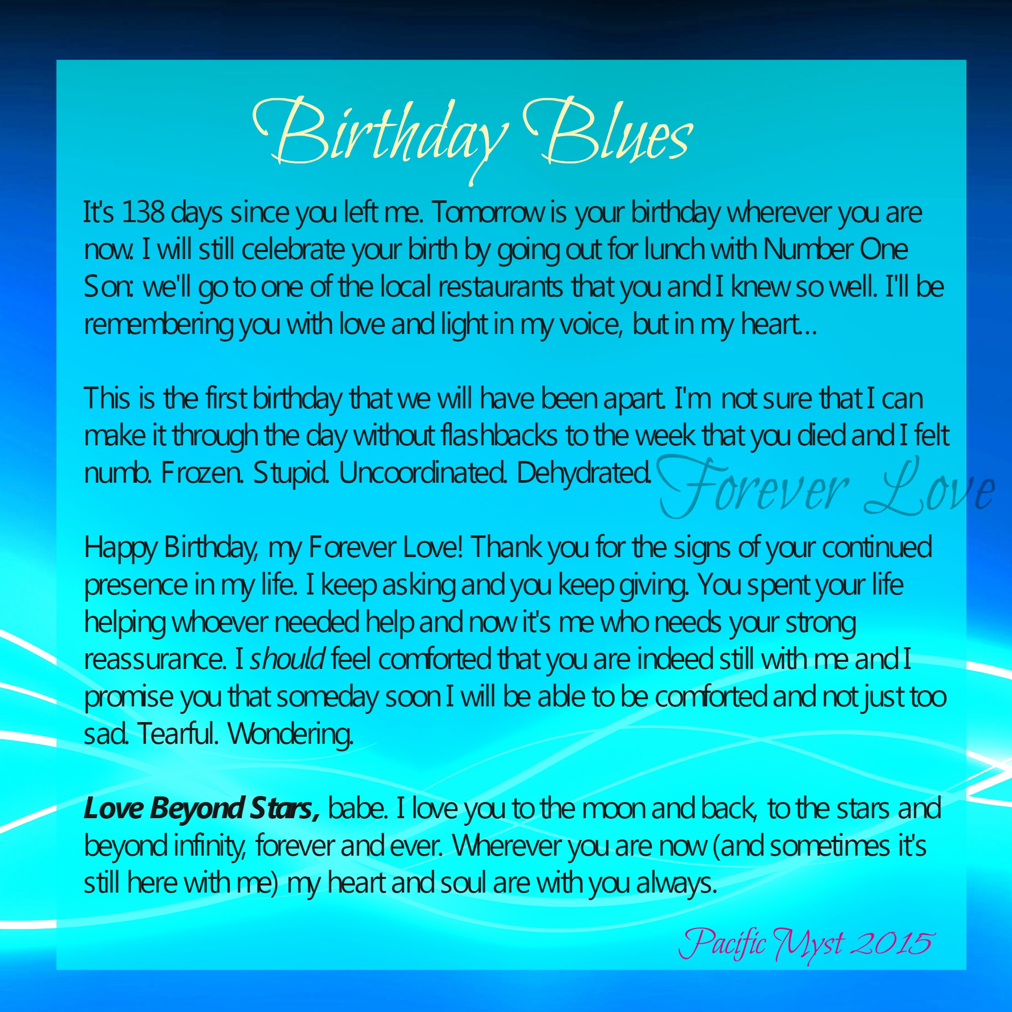 birthday blues the grief toolbox