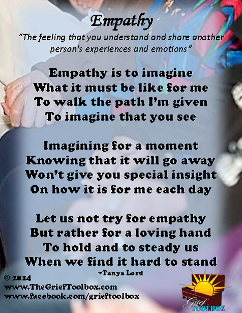 Empathy - A Poem | The Grief Toolbox