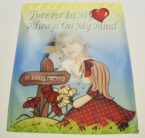 In Loving Memory Garden Flag The Grief Toolbox