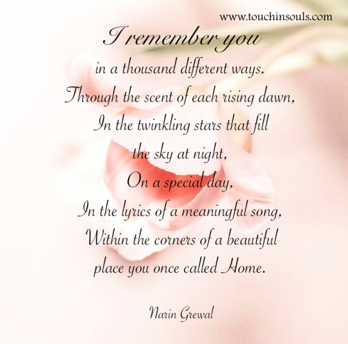 Remember Mom Quotes: I Remember You ...