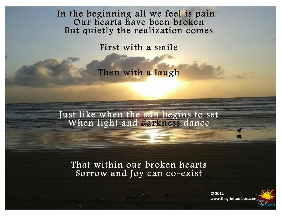 sorrow and joy can coexist the grief toolbox