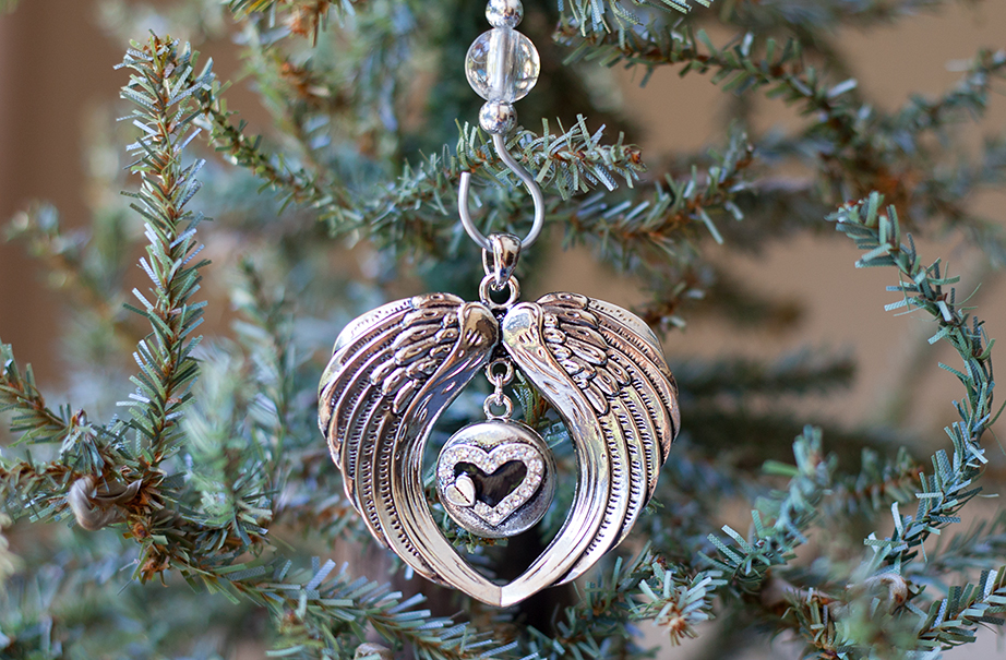 Angel Wings Forever In My Heart Ornament The Grief Toolbox