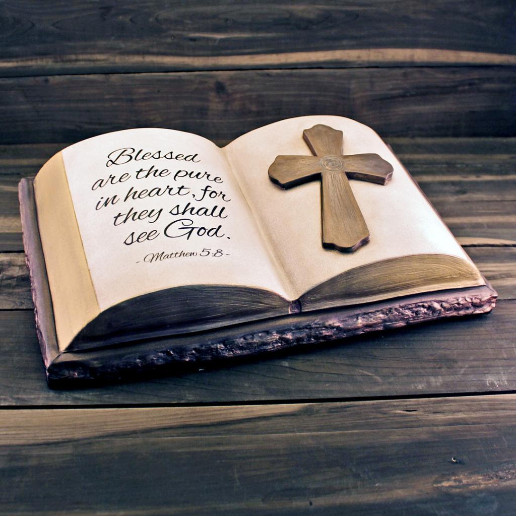 Bible Sculpture Urn