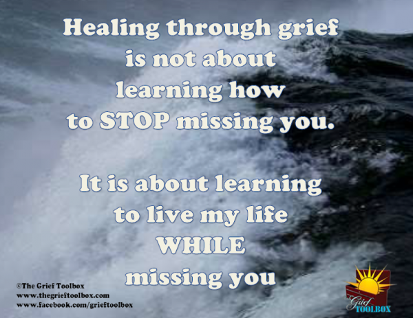 healing through grief a poem the grief toolbox