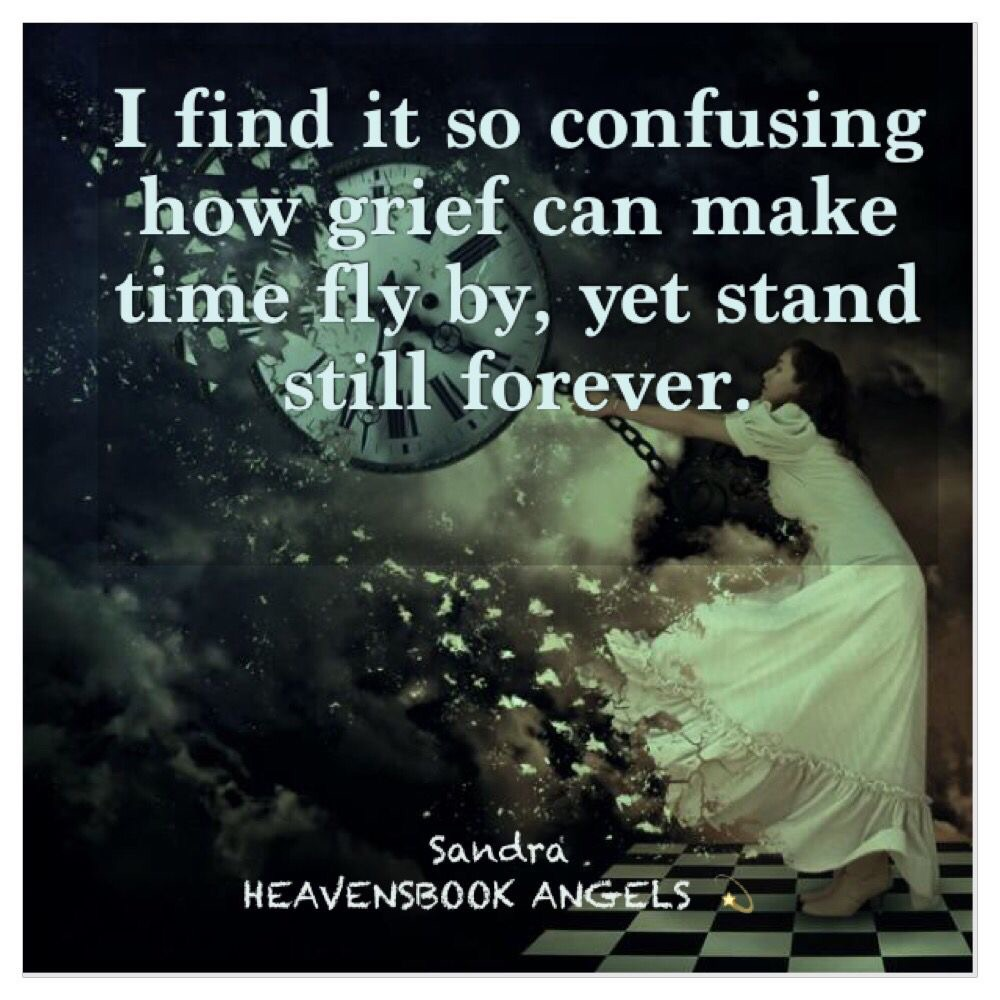 Grief Is Confusing