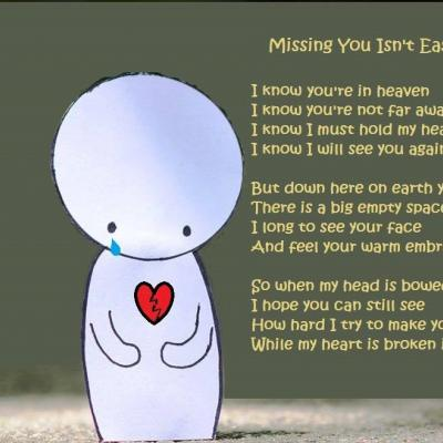 Missing You Isn't Easy