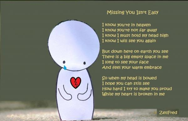 Missing You Isnt Easy The Grief Toolbox