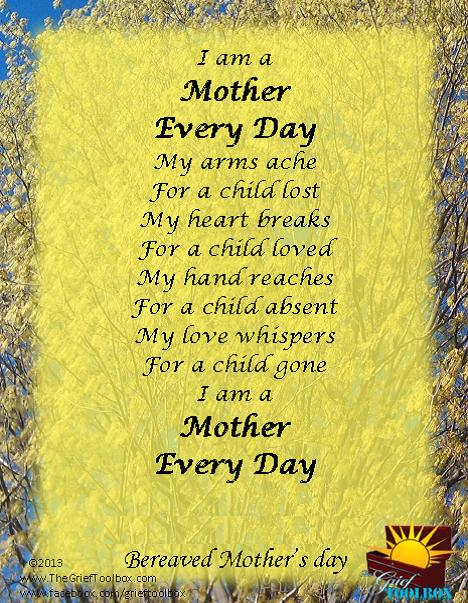 International Bereaved Mother's Day